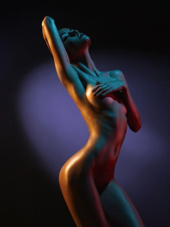 Goddess model art female nude body