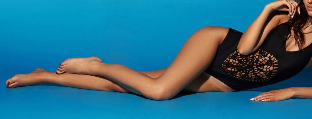Exotic sexy model body